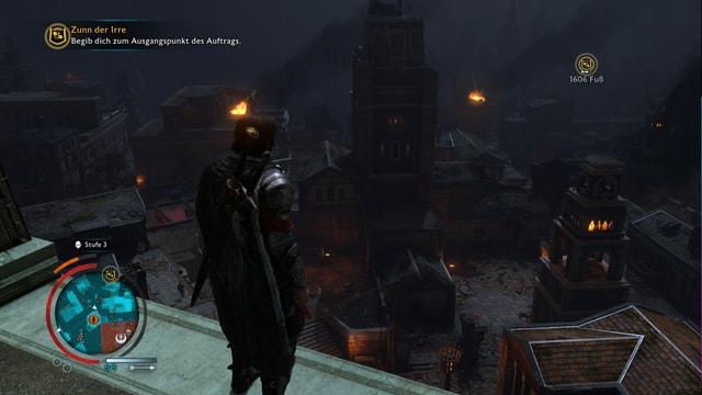 Das Gebiet von Sauron ist ein düsterer Ort, das merkt man der Spielatmosphäre an.