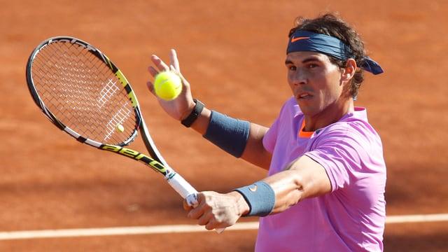 Rafael Nadal feierte ein gelungenes Comeback.