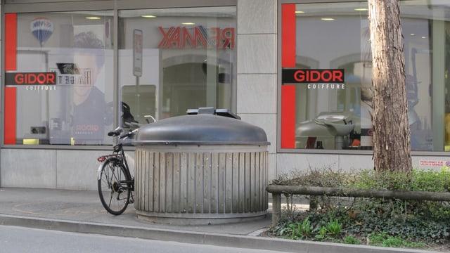 Unterflurcontainer in Chur