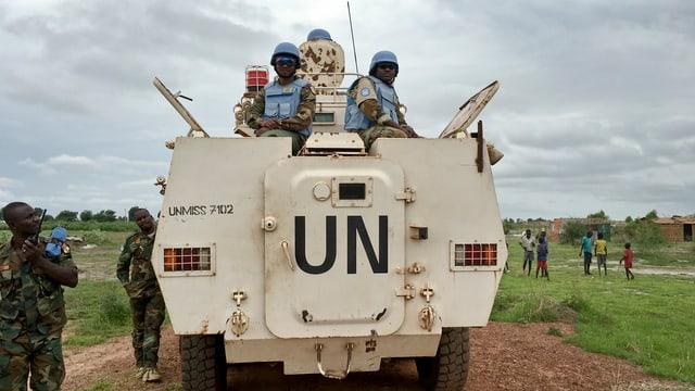 Friedensmission in Darfur