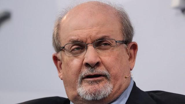 Portrait von Rushdie