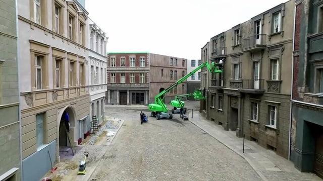 Derzeit laufen in den Babelsberg-Studios lin die Dreharbeiten für die Dritte Staffel «Babylon Berlin».