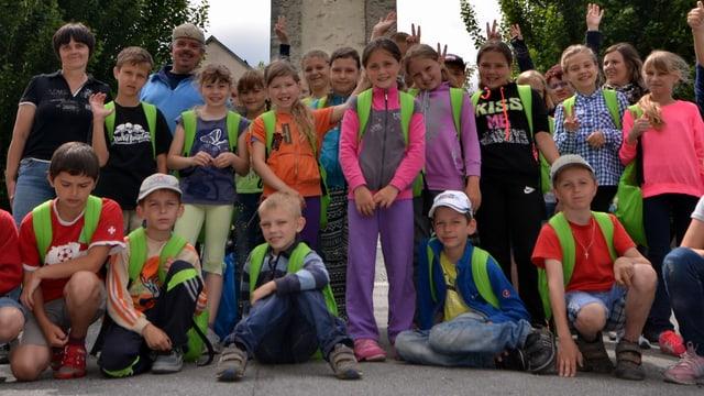 Kinder aus Tschernobyl auf Besuch in der Schweiz