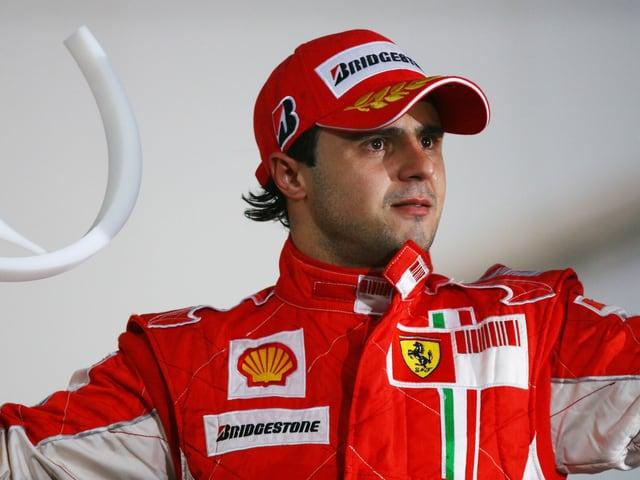 Felipe Massa nach dem denkwürdigen Brasilien-GP.