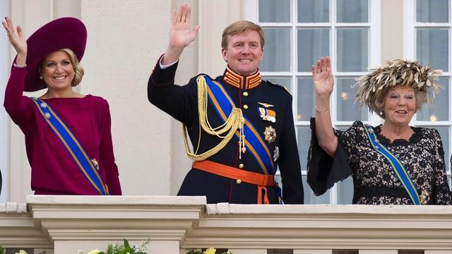 Maxima, Prinz Willem-Alexander, Königin Beatrix