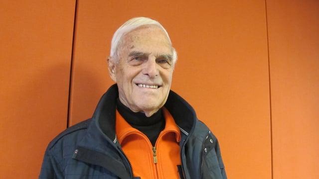 Held der ersten Sechstage-Rennen in Zürich: Walter Bucher.