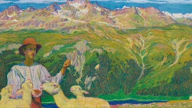 Fünf Meter Giacometti kehren zurück nach Graubünden