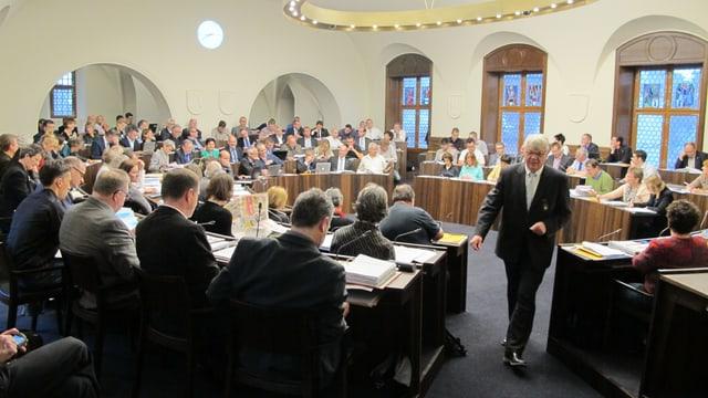 Blick in den Ratssaal