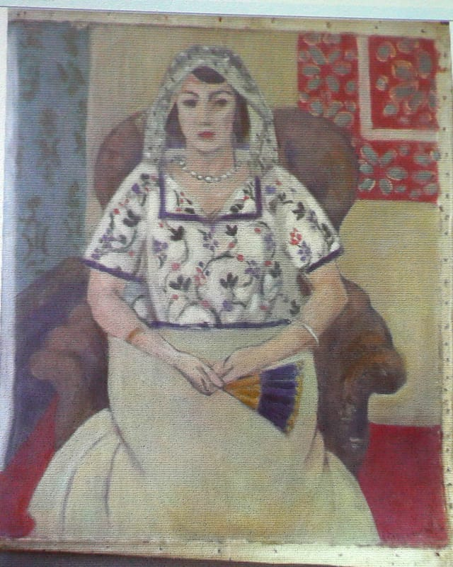 Ein Gemälde des Franzosen Henri Matisse: «Sitzende Frau».