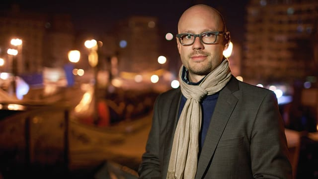 Pascal Weber in Kairo.