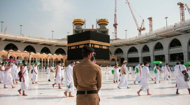Hadsch in Mekka 2020