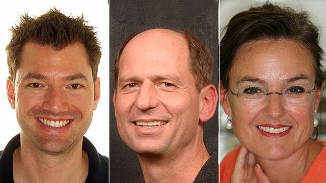 Dr. Barbara Bass, Claudia Heer, Dr. Christina Schlatter und Dr. Gabriella Stocker