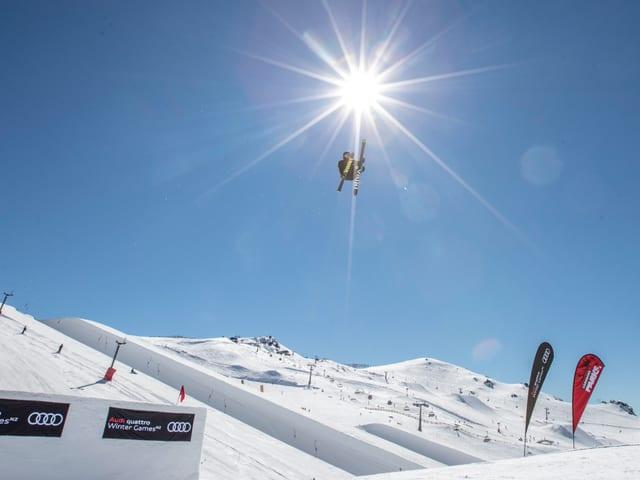 Ski-Freestyler.