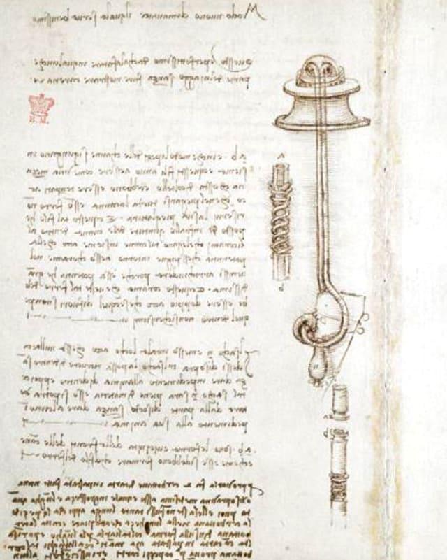 Eine Seite aus dem Codex.
