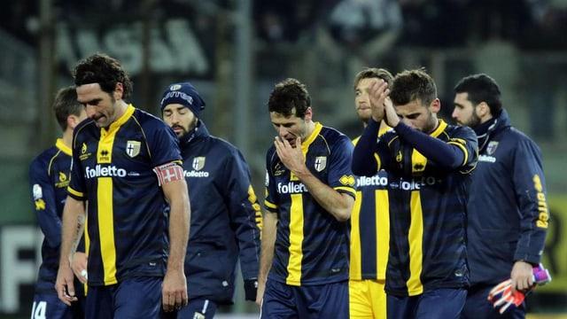 Trotz drohender Pleite wollen die Spieler von Parma die Saison zu Ende spielen.