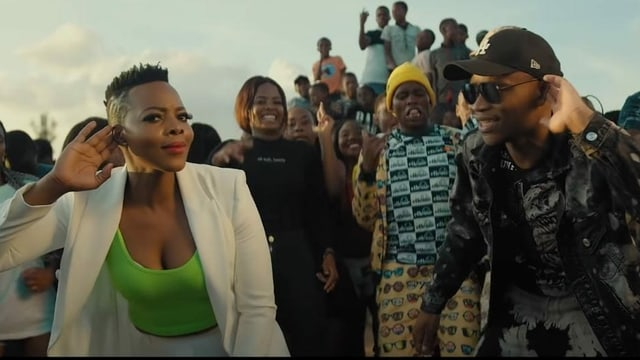 Purtret da DJ Master KG e Nomcebo Zikode.