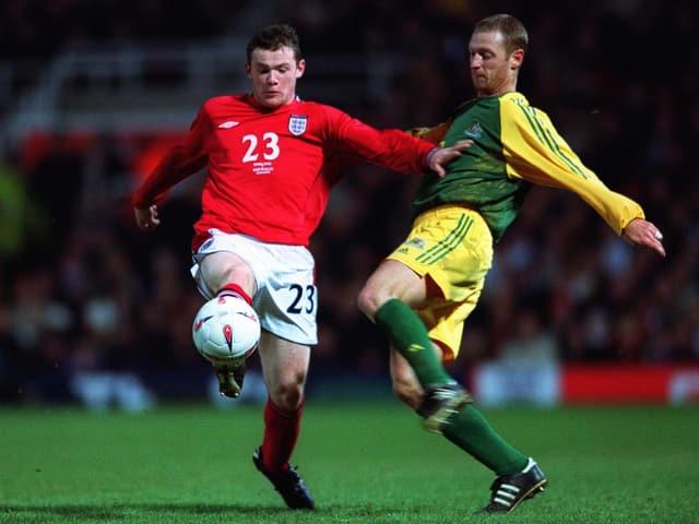 Wayne Rooneys Debüt