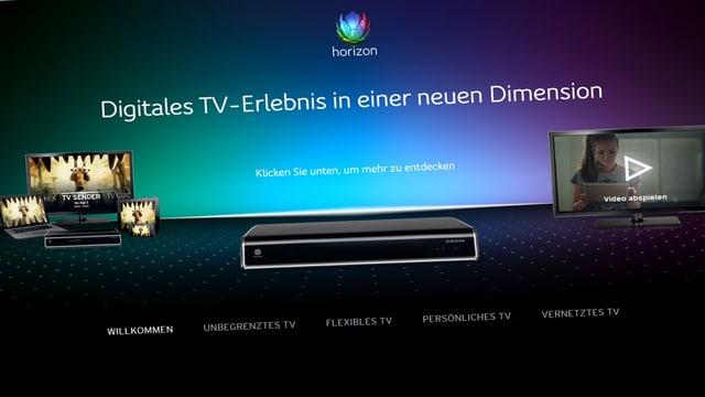 Screenshot upc-cablecom.ch
