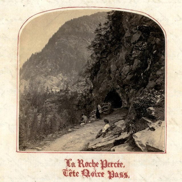 Historische Landschaftsaufnahme