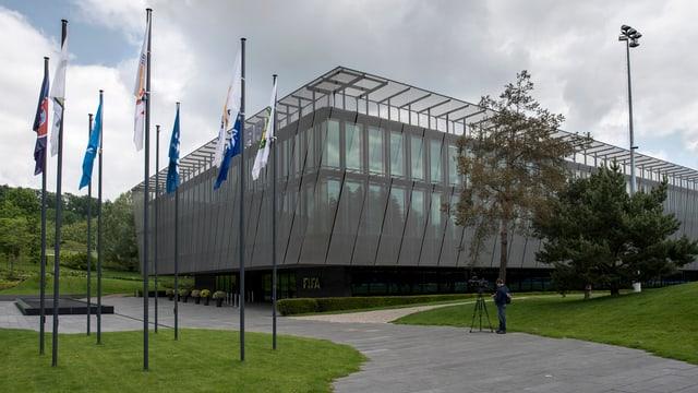 Der Hauptsitz der FIFA auf dem Zürichberg.