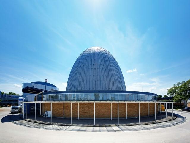 Ein Atom-förmiges Ei: Die ikonische Kuppel von Gerhard Weber steht unter Denkmalschutz.