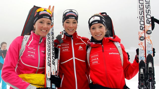Selina, Aita und Elisa Gasparin.
