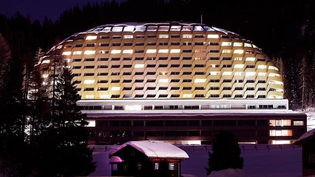 Die SOCAR-Delegation logierte am WEF im Intercontinental Hotel zu Davos.