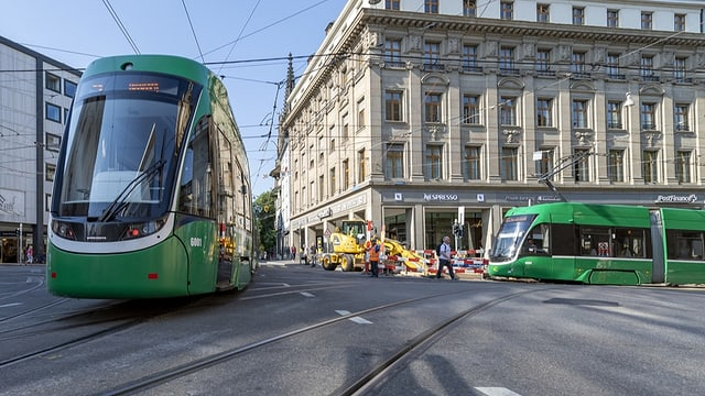 Nur in der Rush-Hour müssen Tramfahrer das Radio noch ausmachen