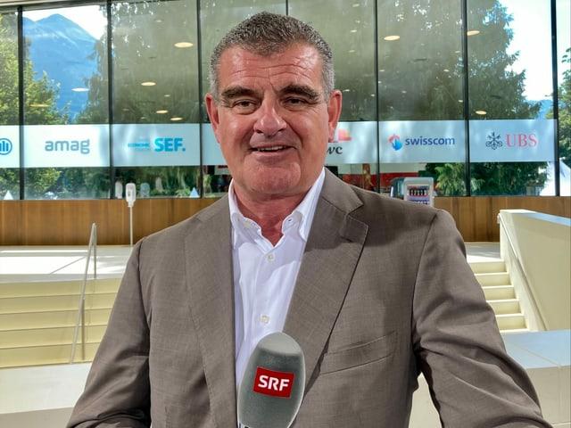 Peter Spuhler, Verwaltungsratspräsident und Geschäftsführer von Stadler Rail