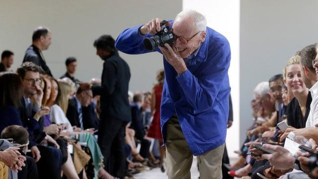 Cuinningham fotografescha sin il catwalk.