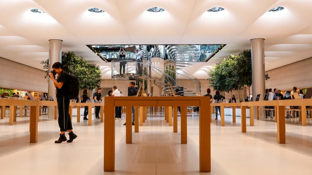 Ein Apple Store in New York.