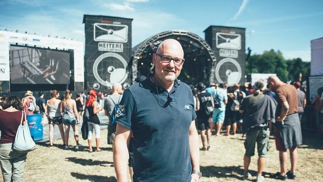 Seit 1992 leitet Christoph Bill (47) das Heitere Openair.
