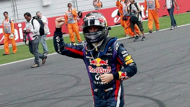 Sebastian Vettel dominierte die Saison 2013 und ist vorzeitig Weltmeister.