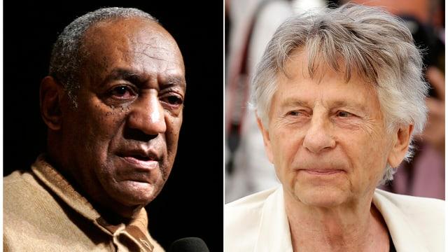 Der eine ist schon verurteilt: Bill Cosby. Gegen den anderen wird ermittelt: Roman Polanski.