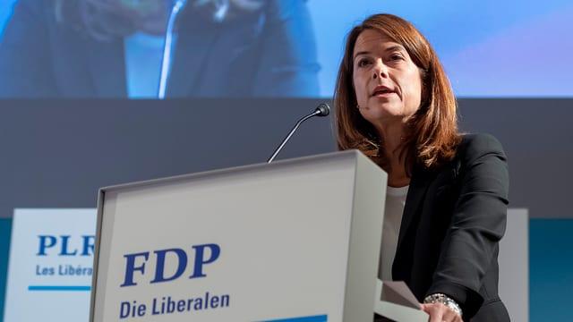 Petra Gössi, Parteipräsidentin FDP