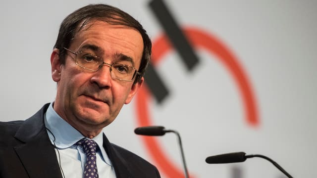 Holcim-CEO Bernard Fontana.