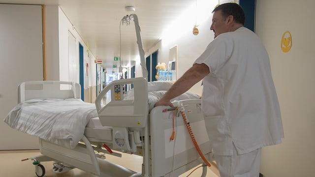 Symbolbild Spitalalltag.