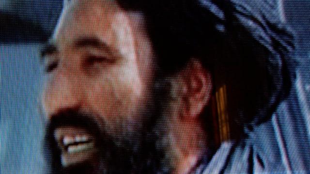 Bild des afghansichen Taliban-Führers Akhtar Mohammad Mansour