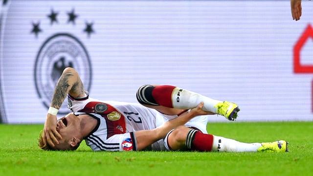 Marco Reus hat sich erneut am linken Fussgelenk verletzt.