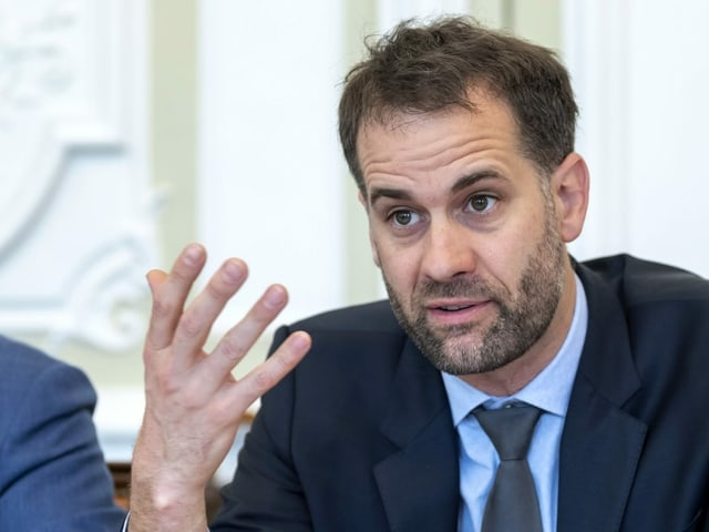 Antonio Hodgers, il president da la regenza dal chantun Genevra.