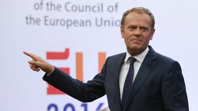 Donald Tusk mussa la direcziun - unitad.