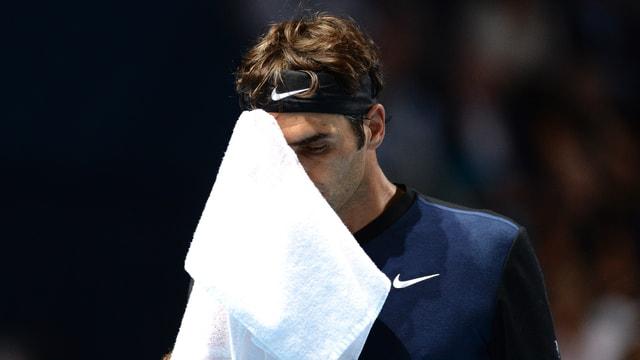 Federer nach seinem Sieg
