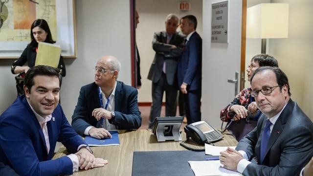 Die Staats- und Regierungschefs der EU