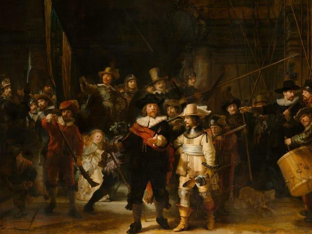 «Nachtwache» von Rembrandt