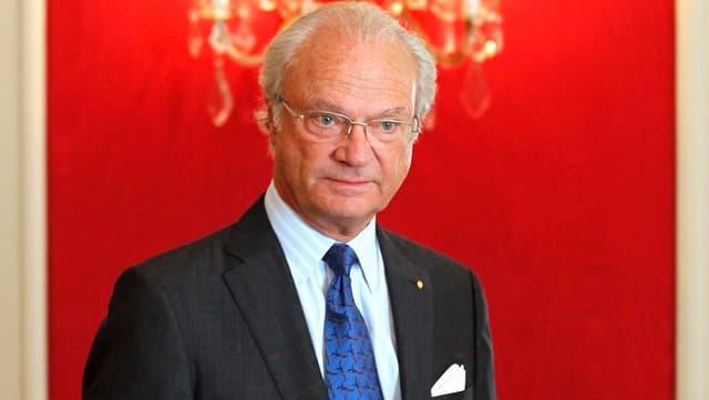 Carl XVI. Gustaf.