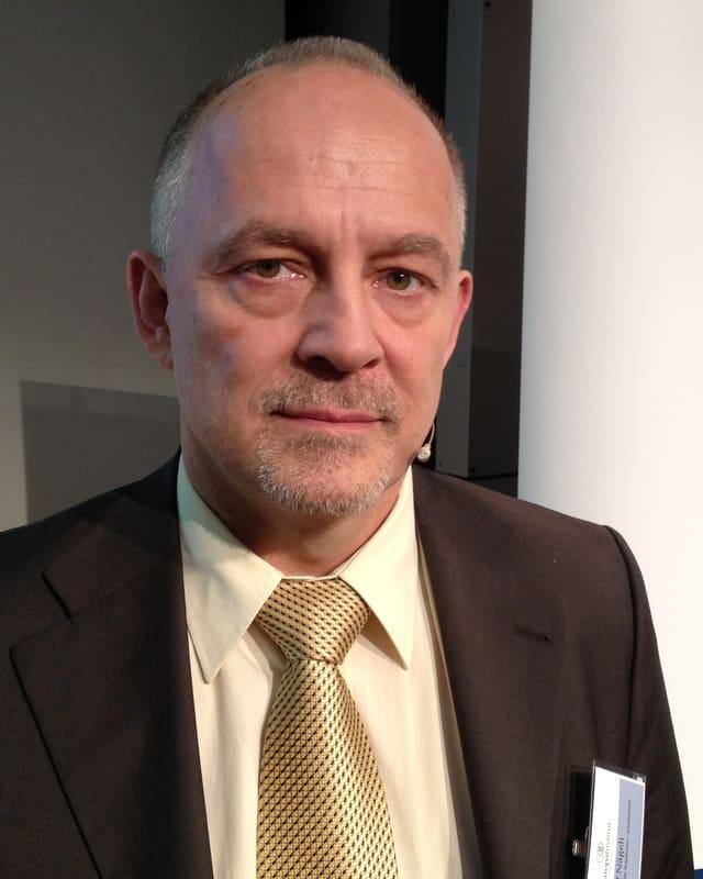 Rolf Nägeli von der Stadtpolizei Zürich.