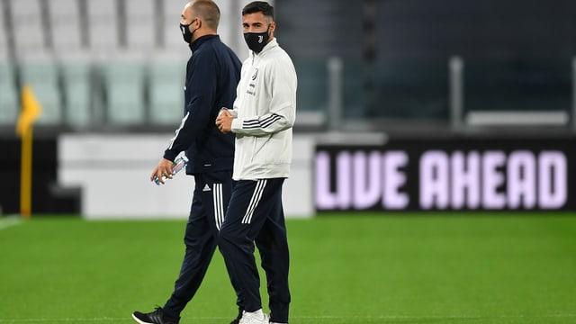 Die Spieler von Juventus Turin am 4. Oktober.
