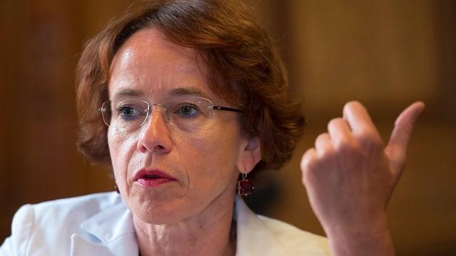 Halbwegs zufrieden: Basler Finanzdirektorin Eva Herzog.
