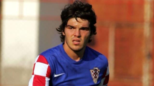 Frano Mlinar im Dress der kroatischen Nachwuchs-Nationalmannschaft