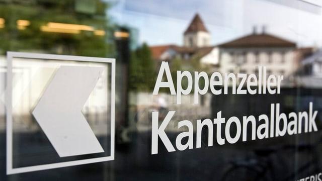 Die Appenzeller Kantonalbank.